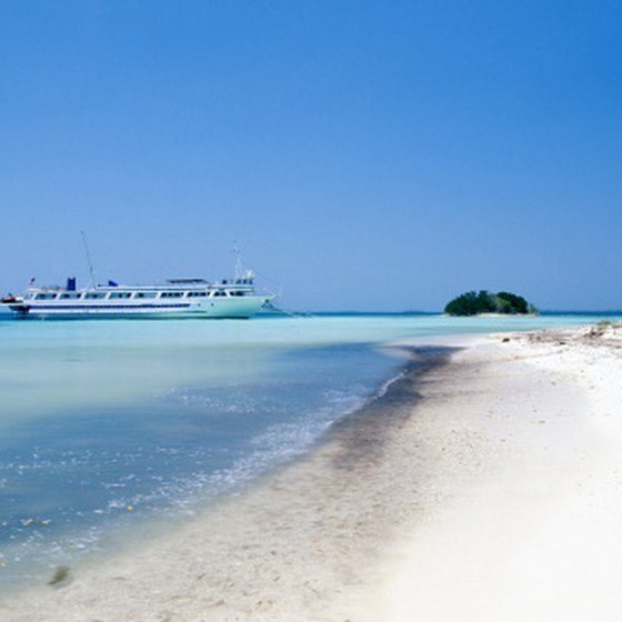 Cruise ships stop in Belize on longer journeys that include more stops.