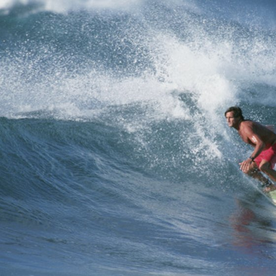The biggest drawback to summer Hawaii travel is the lack of big surf.