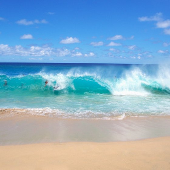 Hawaii's world class beaches are open to the public.
