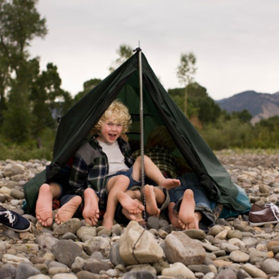 Kid-friendly campsites can turn camping into a fun experience.