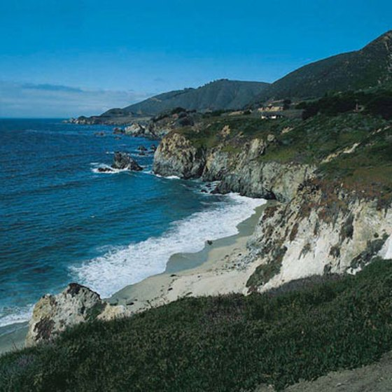 Beautiful Beaches That Are Rocky With Cliffs in California