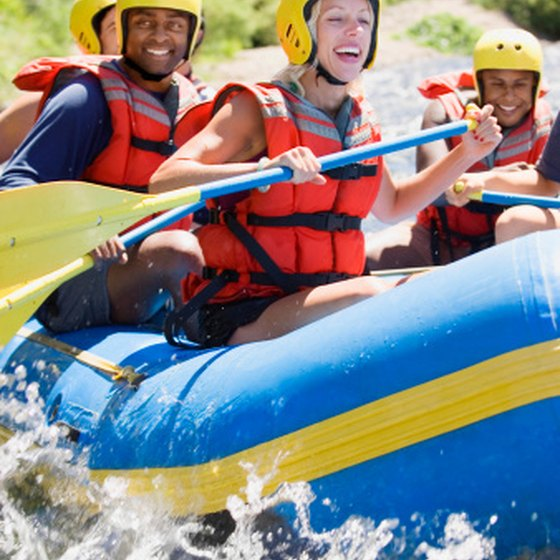 Rafting Trips on Wolf River in Wisconsin