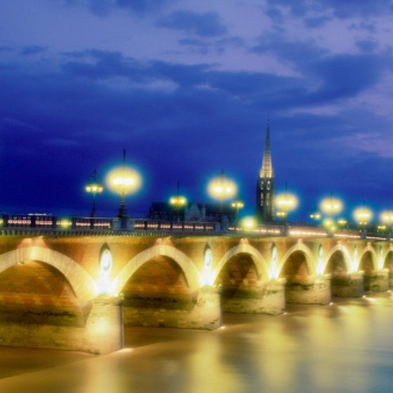The elegent city of Bordeaux makes a convenient base for exploring the wine region.