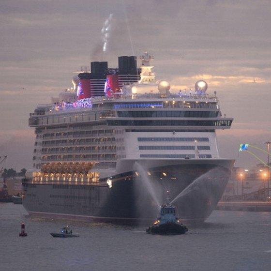 Disney cruises set sail aboard the 'Disney Dream' and three other magical ships.