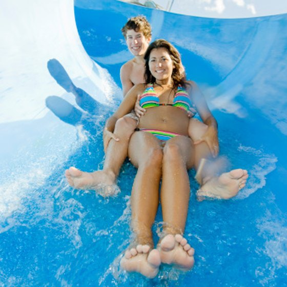 San Francisco area waterparks offer fun and thrilling rides.