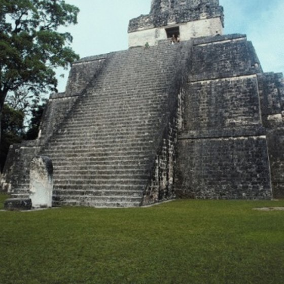 You might opt to explore the Great Plaza and Temple I at Tikal