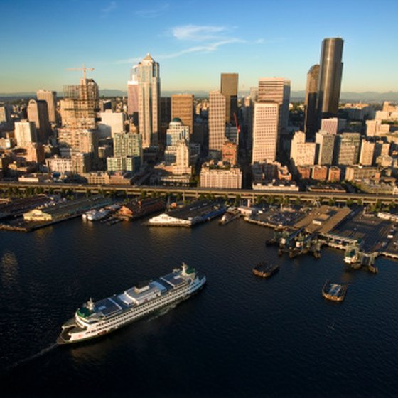 Stay the night in Seattle before heading on a cruise.