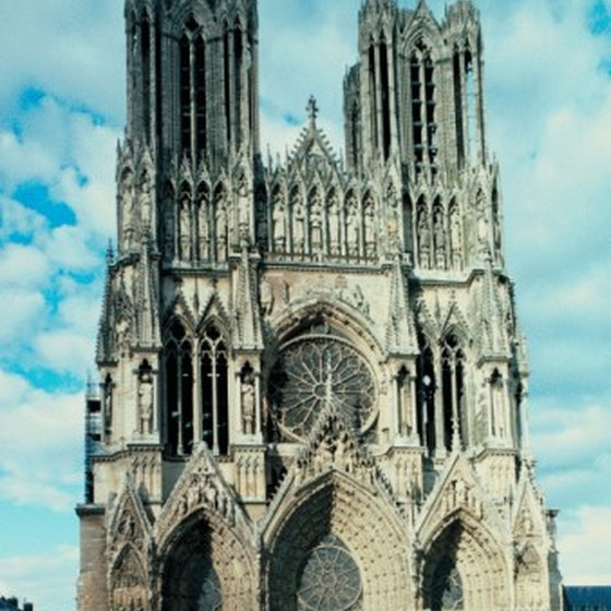 Reims' imposing cathedral has drawn visitors for over 1,000 years.