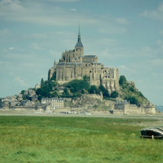 Mont-St-Michel is one of Normandy's major tourist attractions.