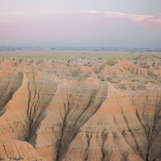 Geology of Badlands, South Dakota