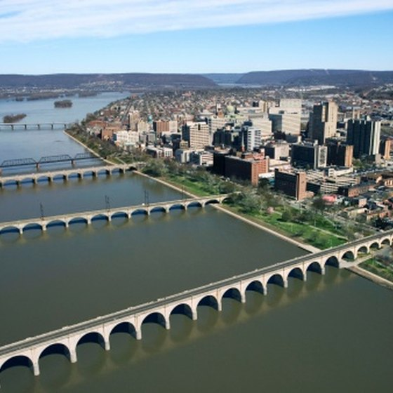 Harrisburg is on the banks of the Susquehanna River.