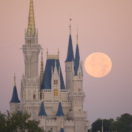 Cinderella's Castle provides a focal point in the middle of the Magic Kingdom.