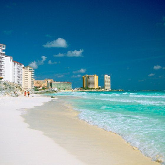 Warm Cancun weather draws millions of tourists every year.