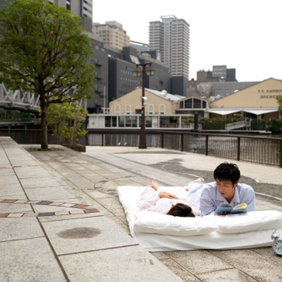 This is one cheap way to sleep in Japan.
