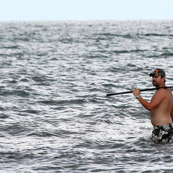 Grand Isle, Louisiana, is known for its fishing.