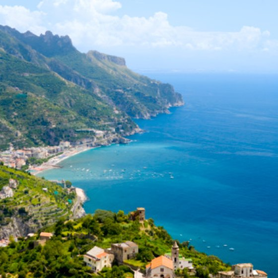 The Amalfi Coast is a popular stop on many Italian tours.