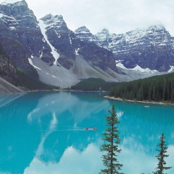 Beautiful Lake Louise is less than 3 miles from Lake Louise Campground.