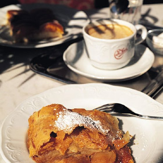 Enjoy a slice of strudel at one of New York's Hungarian restaurants.