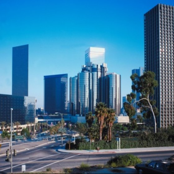 Known for its traffic, Los Angeles has miles of walking trails for pedestrians.