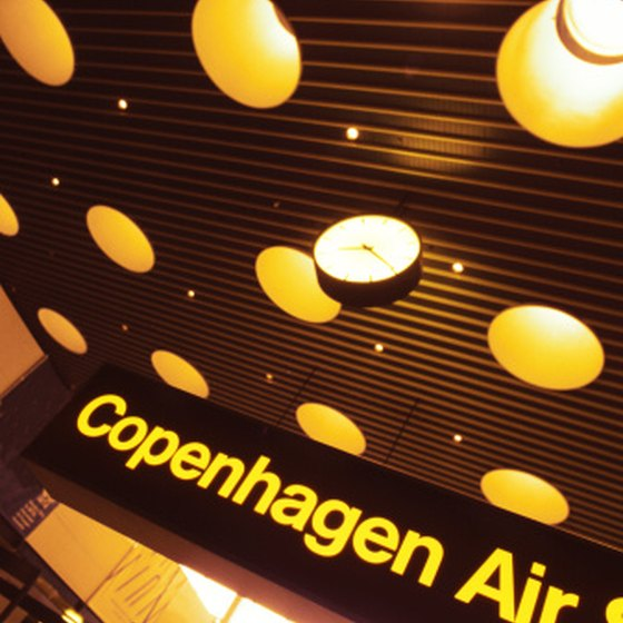 Cophenhagen has a variety of different airport options.