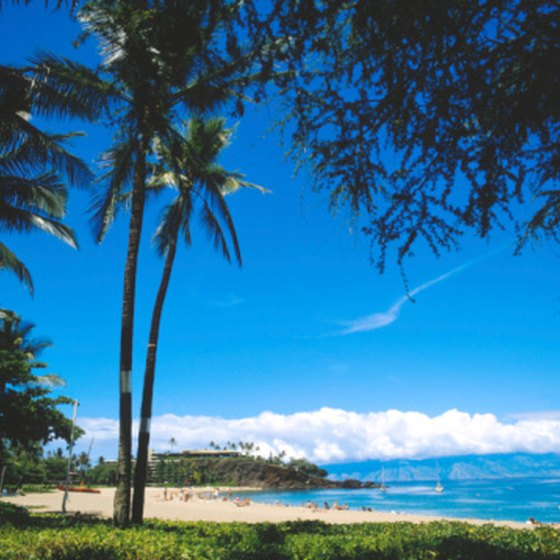 Most travelers head to Kaanapali for the miles of white sandy beaches.
