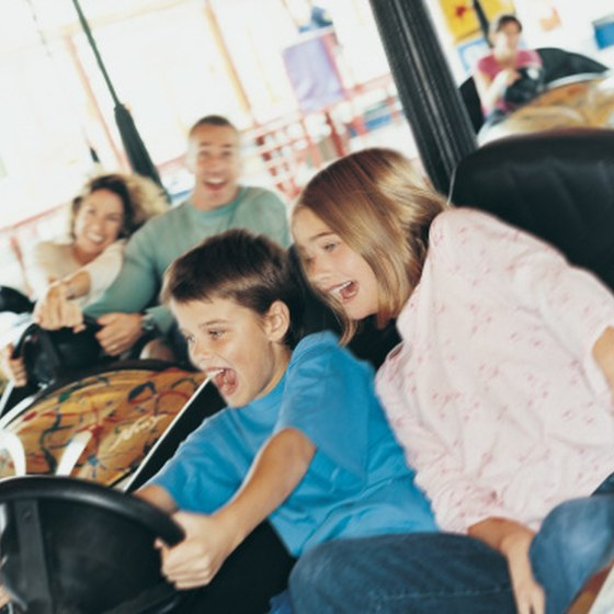 Plan a 10-year old's birthday party at one of the theme parks in Southern California.