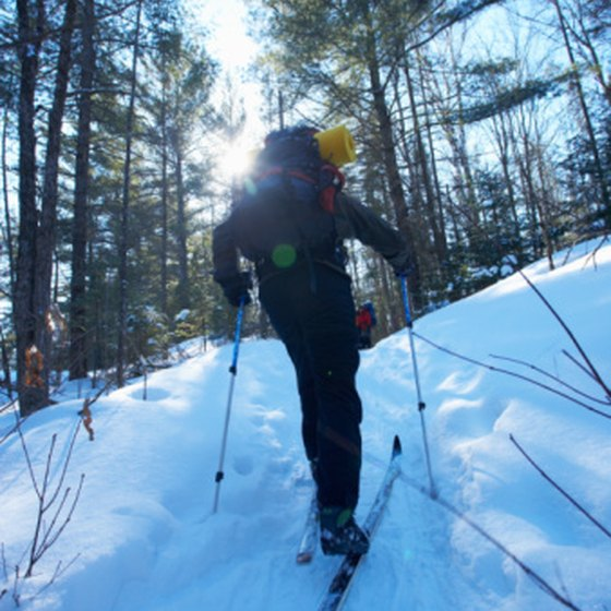 The early-bird ski season in Canada begins in November.