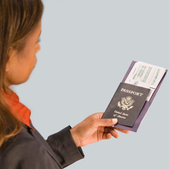A passport is required for most international trips.