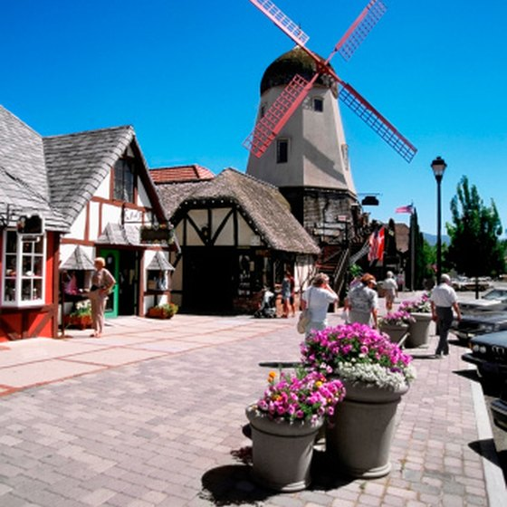 Visitors to Solvang will find it hard to believe they are in California.