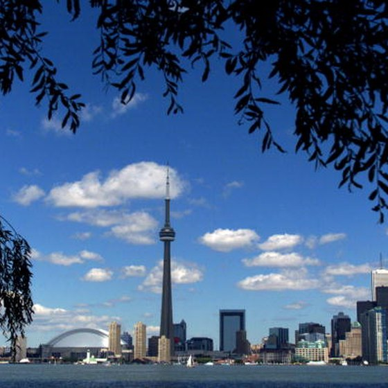 Be sure to visit the CN Tower while in Toronto.