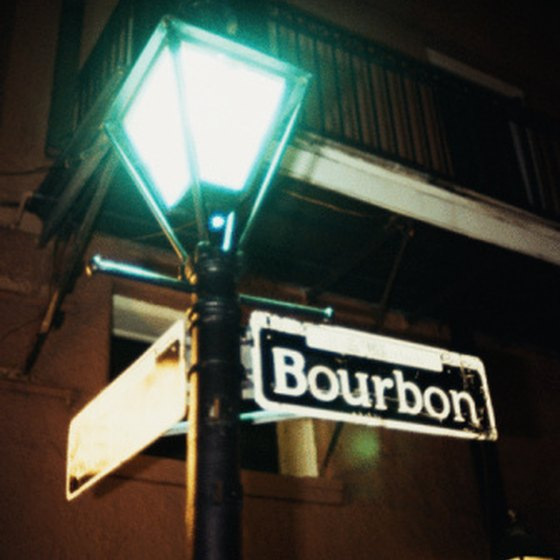 Bourbon Street in New Orleans is arguably one of the world's most famous streets.