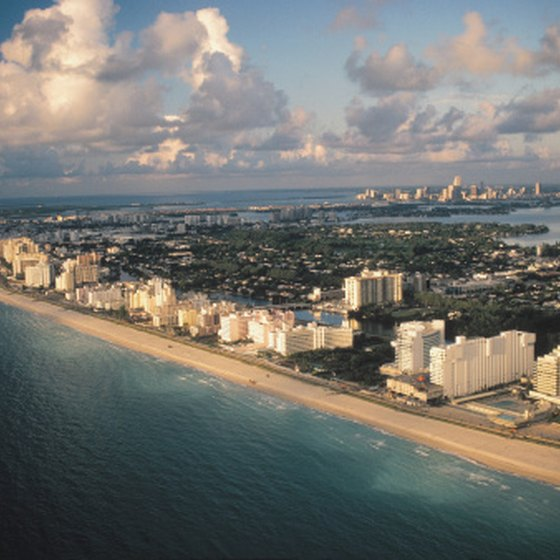 Miami, Florida, is among the nation's top cruise ports.