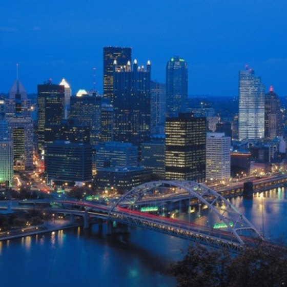 Rental-car agencies have offices in downtown Pittsburgh, as well as the international airport.