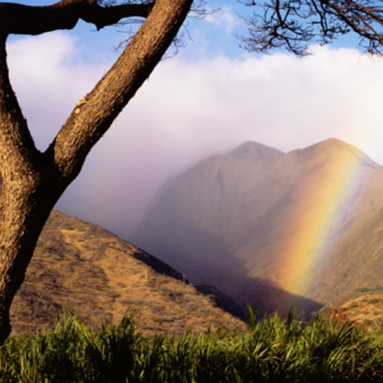 Most of Maui's dramatic landforms have volcanic origins.