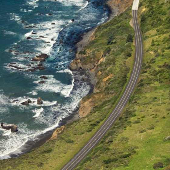 Take the scenic route on your way to the beach along California's Pacific Coast Highway.