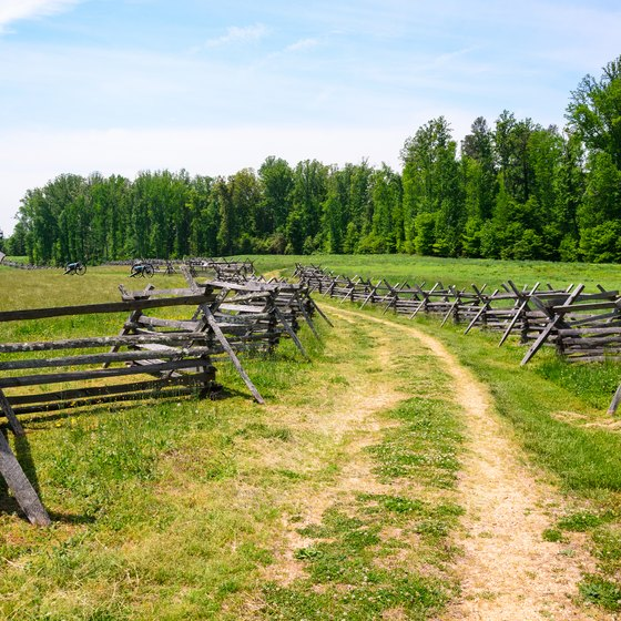 Famous Revolutionary War Battle Sites in Virginia