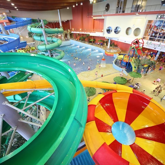 Indoor Water Parks in the Midwest