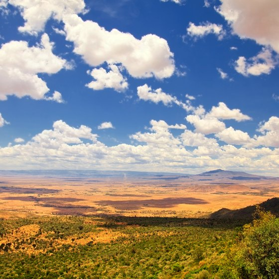 Major Landforms in Kenya