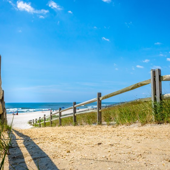 Beach Island: Campgrounds On Long Beach Island, New Jersey