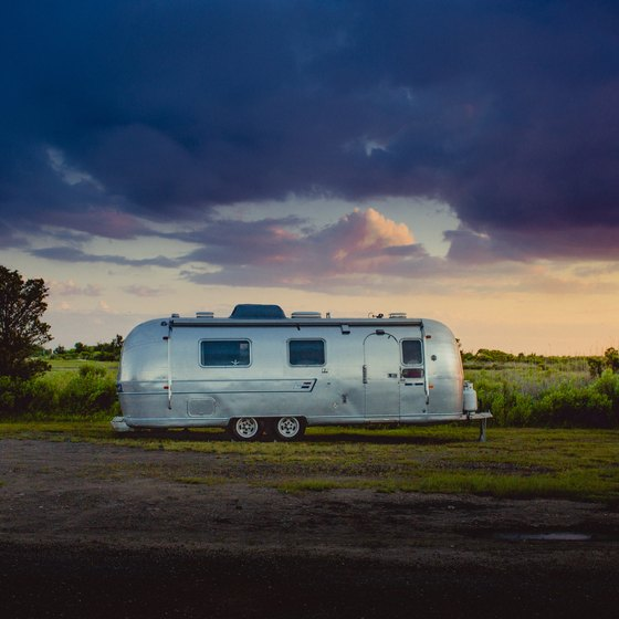 How to Set up a Travel Trailer at a Campground