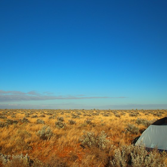Camping Near John Day, Oregon