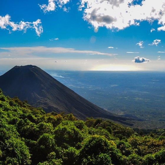 The Landforms of El Salvador
