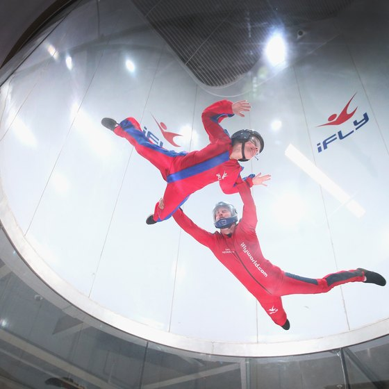 Indoor Skydiving in Michigan
