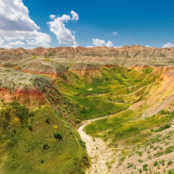 Average Temperature at Badlands National Park