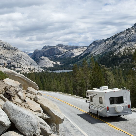 Camping on 395 on the East Side of Yosemite National Park | USA Today