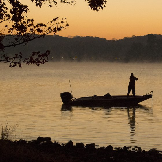 Fishing Spots in Table Rock Lake