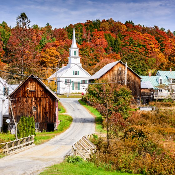 Self-Guided Tours Through the New England States