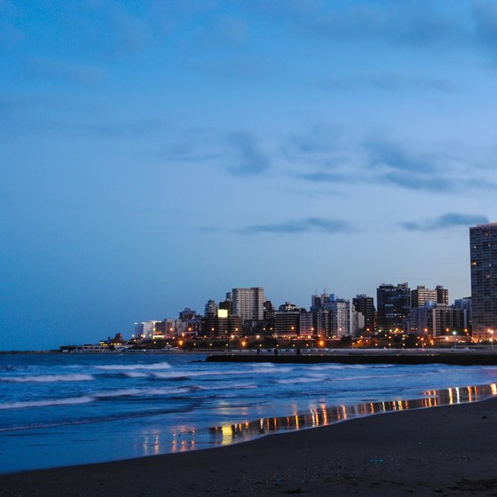 Information on Beaches in Argentina