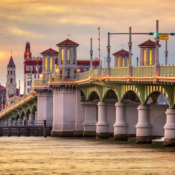 Places to Eat in Historic St. Augustine, Florida