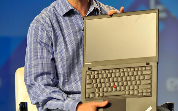 IBM ThinkPad.